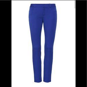 NWT Banana Republic royal blue Sloan pants